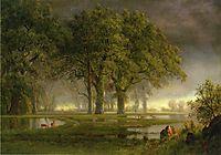 Sunglow, bierstadt