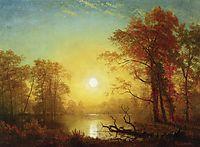 Sunrise, bierstadt