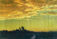 Twilight over the Path, bierstadt