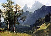 Tyrolean Landscape, 1868, bierstadt