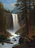 Vernal Falls, bierstadt
