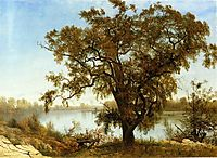 A View from Sacramento, c.1875, bierstadt