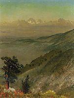 Wasatch Mountains, bierstadt