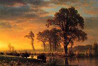 Western Kansas, 1875, bierstadt