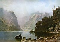 Western Landscape, 1880, bierstadt