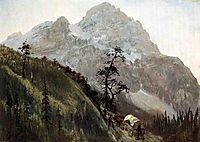 Western Trail, The Rockies  , bierstadt