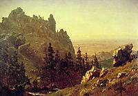Wind River Country, 1859, bierstadt