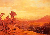 Wind River Country, 1860, bierstadt
