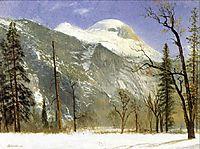 Winter in Yosemite Valley, 1872, bierstadt