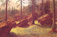 Wooded Landscape, bierstadt