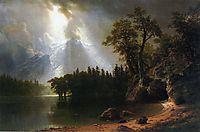 Yosemite, 1870, bierstadt