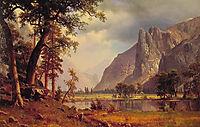 Yosemite Valley, 1866, bierstadt