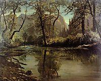 Yosemite Valley, California, c.1863, bierstadt
