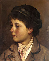 Head of a Young Boy, 18, blaas