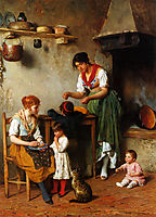 A Helping Hand, 1884, blaas