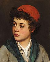 Portrait of a Boy, 1884, blaas