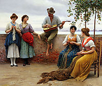 The Serenade, 1910, blaas