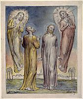 Andrew, Simon Peter Searching for Christ, 1819, blake