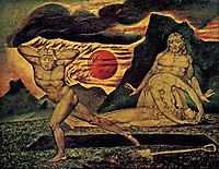 The Body of Abel Found by Adam & Eve, c.1825, blake