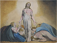 Christ Appearing to His Disciples After the Resurrection, blake