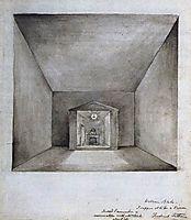 Elisha In The Chamber On The Wall, 1820, blake