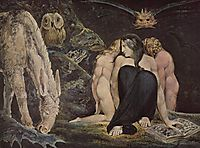 Hecate  The Night of Enitharmon`s Joy, 1795, blake