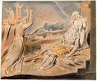Illustration to Book of Job, blake