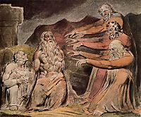 Illustration to Book of Job, blake