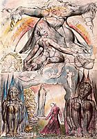 Illustration to Dante-s Divine Comedy, Hell, blake