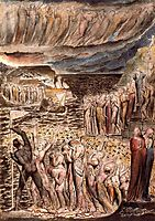 Illustration to Dante-s Divine Comedy, Hell, blake