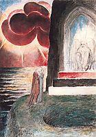 Illustration to Dante-s Divine Comedy, Purgatory, blake