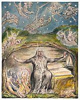 Illustration to Milton`s L`Allegro and Il Penseroso , 1820, blake