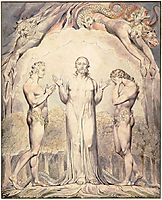 Illustration to Milton`s Paradise Lost , 1808, blake