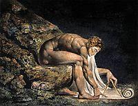 Isaac Newton, 1795, blake