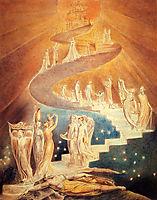 Jacob-s Ladder, c.1806, blake