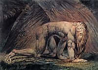 Nebuchadnezzar, 1795, blake