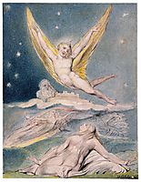 Night Startled by the Lark, 1820, blake