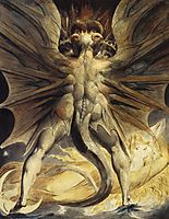 The Red Dragon and the Woman Clothed with the Sun, 1805, blake