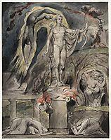 The Shrine of Apollo: Milton-s Hymn on the Morning of Christ-s Nativity, 1815, blake