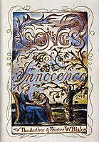 Songs Of Innocence, 1825, blake