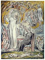 The Spirit of Plato, 1820, blake