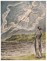 The Wandering Moon, 1820, blake