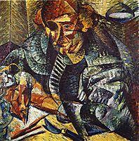 The antigraceful, 1912, boccioni