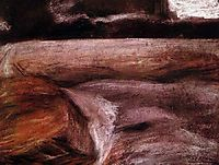 Campagna, 1908, boccioni