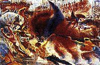 The City Rises, 1910, boccioni