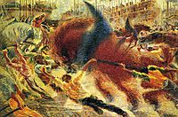 The City Rises, 1911, boccioni