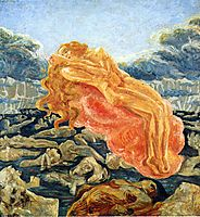 The dream (Paolo and Francesca), 1909, boccioni