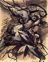 Dynamic Decomposition, 1913, boccioni