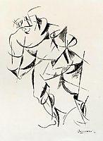Dynamism of the human body: Boxer, 1913, boccioni