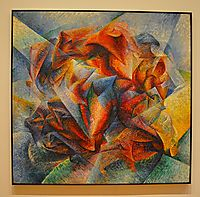 Dynamism of a Soccer Player , 1913, boccioni